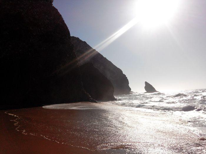 Adraga Praia Da Adraga BeachSunset Beach Time Beachphotography Beach BeachSilhouette Sea Silhouette Waves