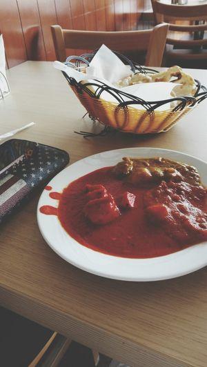 Eating Chicken Masala Getting Heartburn