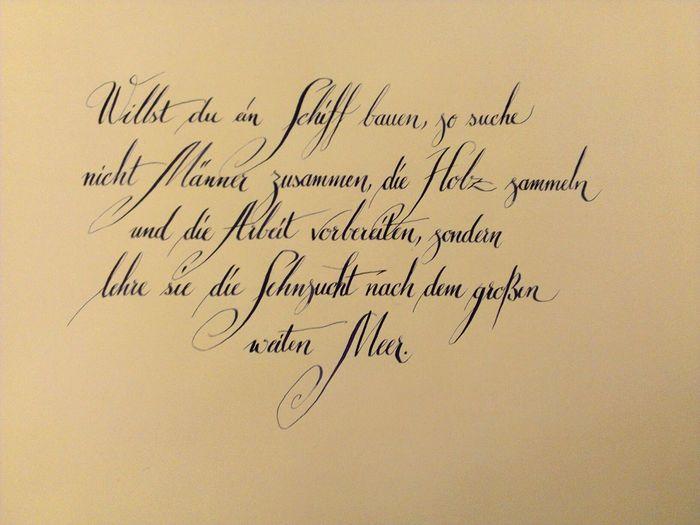 Zitat Zitate Kalligraphie Calligraphy Kruse Quotes Penmanship EyeEm Best Edits Copperplate Art, Drawing, Creativity Zitateundsprueche Ink Anglaise Schiff ArtWork