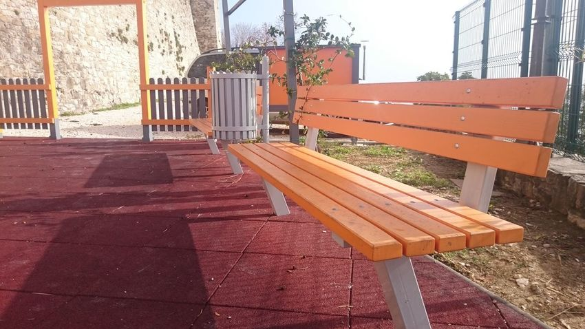 Bench No People Nofilter Park