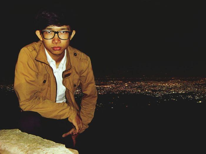 narsis dikit :p City Lights Bandung Night View