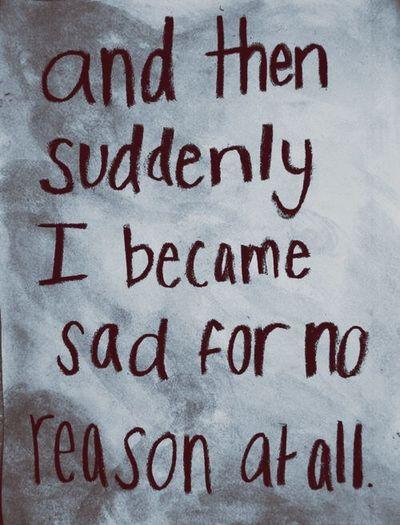 Alone Sadness