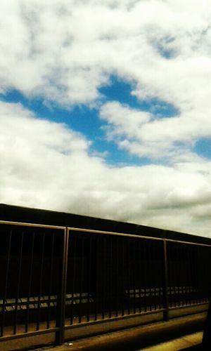 Blue Sky Sky And Clouds Hiding Sun