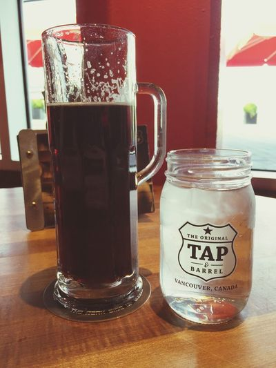 A little Hoyne Dark Matter Breakfast Beer this fine Sunday Morning