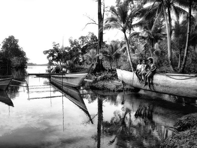 Enjoying morning at Kunef Bay, Biak Supiori An Eye For Travel