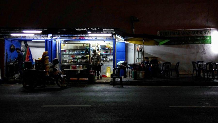 Mamak Street Food Nightlife Penang Food Street Carts Meet Goreng Sample The Best Only In Malaysia
