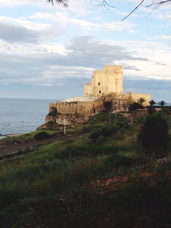 Architecture Building Exterior Castle History Fortified Wall Sea Ancient Rosetocapospulico