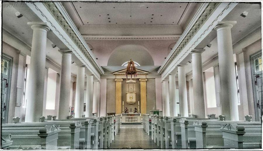 Kirche mal anders: Säulen - statt sakraler Kult Husum Churchporn Churchflow