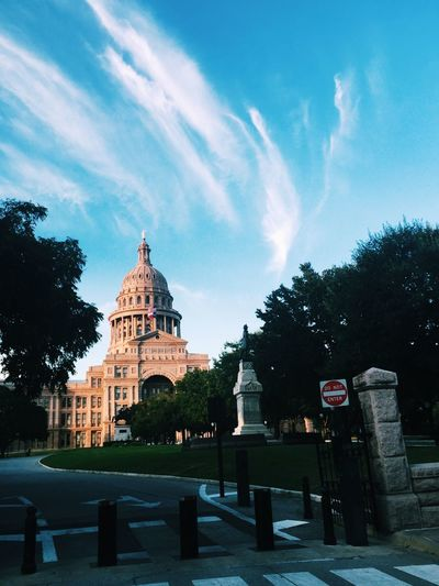 Texas State Capitol Against Sky
