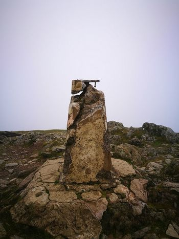 Trig point Garnedd Ugain Summitpoint Snowdonia landscape Nature photography Lost In The Landscape