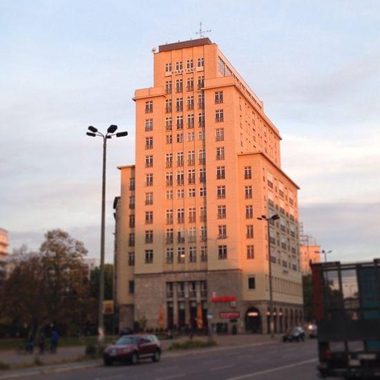 #strausberger #stalinallee #berlin #fhain #friedrichshain #sunset Berlin Sunset Friedrichshain Fhain Stalinallee Strausberger