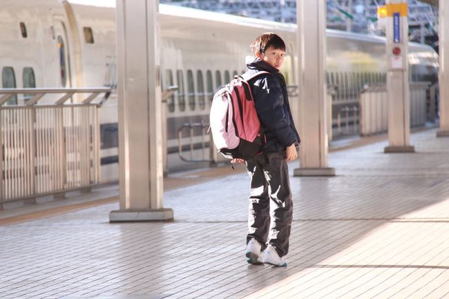 Young Adult Confidence  Leaving For School Leaving People And Places