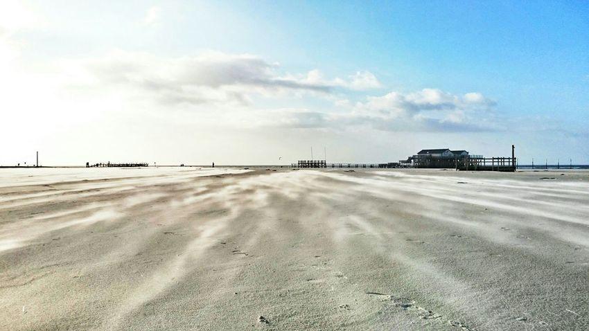 Love The Sea Life Is A Beach Sand Windy