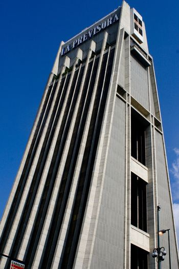 Architecture Blue Building Exterior Building Story Built Structure Caracas Caracas City City City Life Façade Low Angle View Modern Office Building Skyscraper Tall Tall - High Tower Venezuela