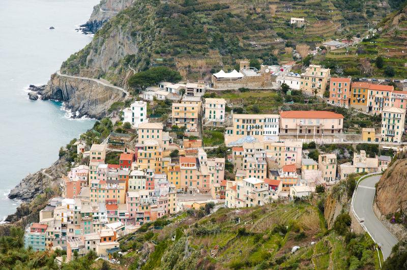 Riomaggiore - Cinque Terre - Italy Cinque Terre Built Structure Cliff Italy Riomaggiore