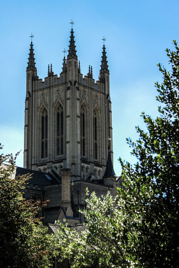 Architecture Built Structure Cathedral England Façade Religion Travel Destinations Tree