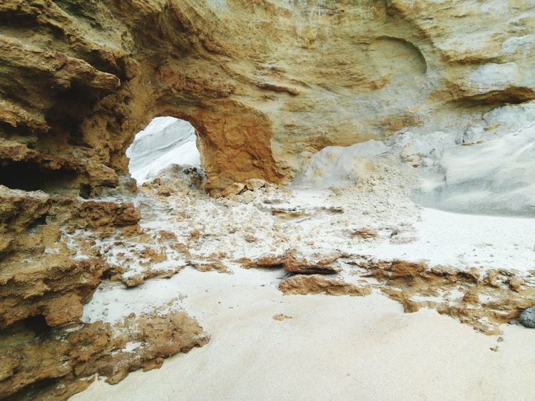 Nature No People Rock - Object Rock Formation Geology Beauty In Nature Day Textured  Physical Geography Outdoors Sand