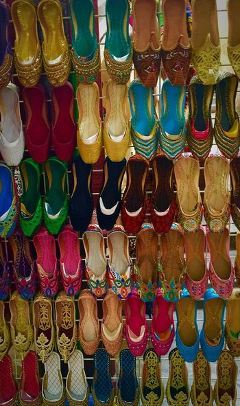 Spoilt for choice Oldsouk Shoes Footwear Of The Day  Footwear Footwears Women Ladies Girls Colorful Everything In Its Place Dubai