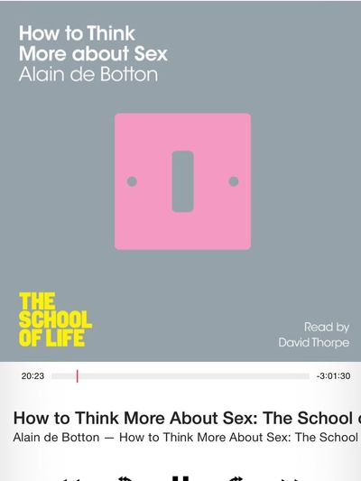Dissecting Homo Sapiens, always a pleasure with a Smile. School Of Life Alain De Botton
