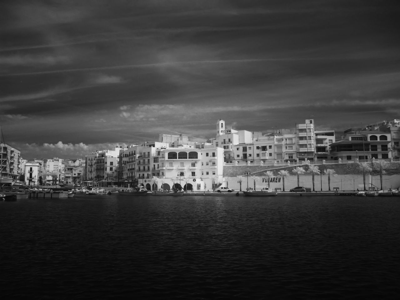 architecture, building exterior, built structure, sky, waterfront, water, outdoors, no people, sea, cityscape, day, nature, city, nautical vessel