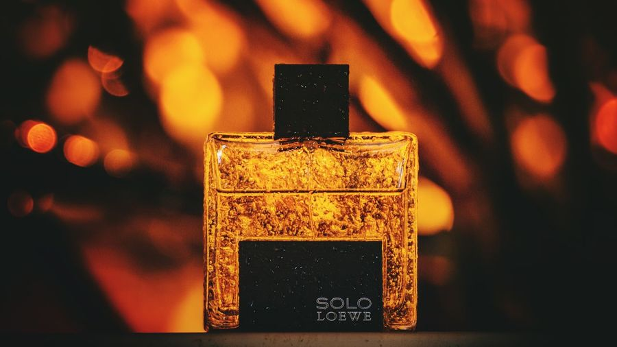 Long Exposure Rain Loewe Drops Bottle Fragrances Perfume First Eyeem Photo