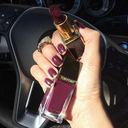 Tom Ford Fashion Lipstick Nails