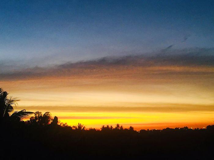 Dusk Sky Sunset