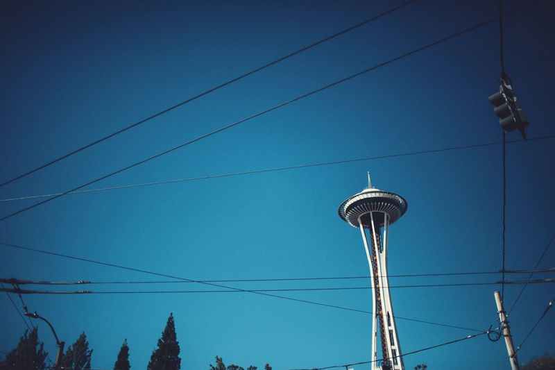 Seattle Seattle, Washington Space Needle Downtown Shoot