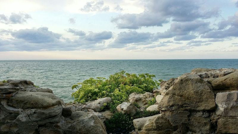 Termoli  Sea And Sky Eyeemphotography Travel Photography Sea Nature Nature_collection Hello World EyeEm Gallery Color Collection