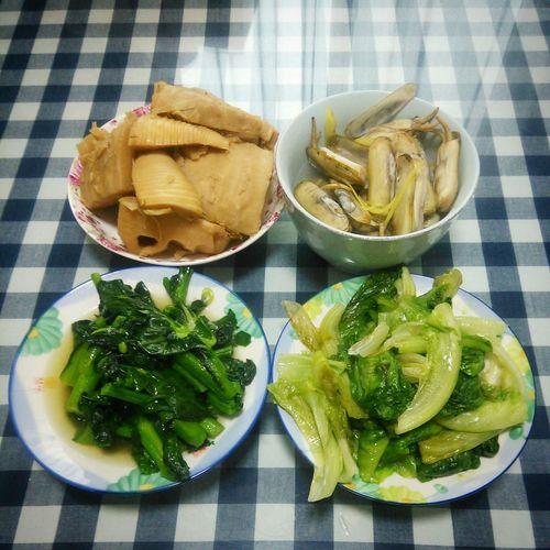 Dinner Enjoying Life