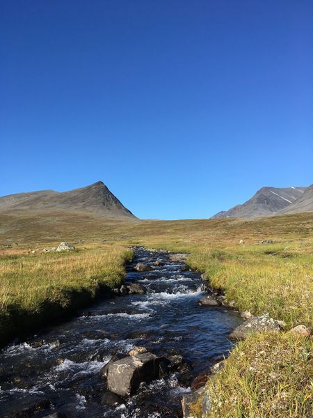 Hiking Kings Highway Kungsleden Lapland Lappland Sweden Swedish Nature Abisko Arctic Circle Day Hiking Adventures Hiking Trail Hikingadventures Landscape Mountain Mountains Nature Outdoor Outdoors Scenics Sky Stream - Flowing Water Sweden Nature Sälka Tranquil Scene