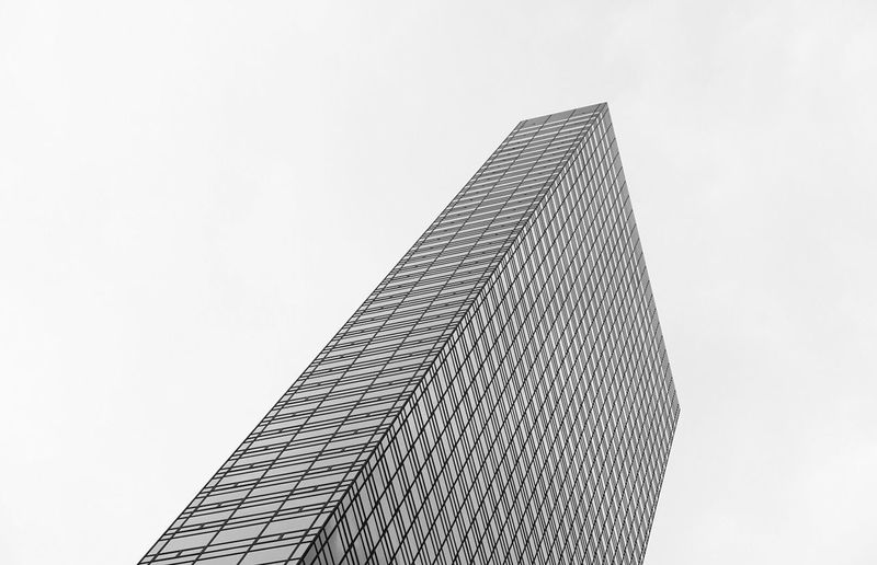 sick of contemplating im no longer waiting Architecture Modern Building Exterior Skyscraper City Pattern Textured  Architectural Design Futuristic Built Structure Modern Architecture