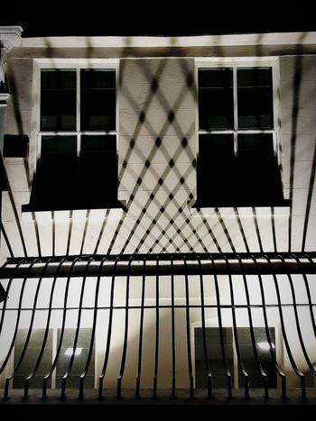Window No People Architecture Building Exterior Outdoors Street Photography Streetphotography Night Photography Night Mayfair, London Shadow Shadows & Lights Bars Built Structure Architecture