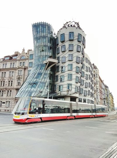 Tram and a floating house Be. Ready. The Graphic City Mobility In Mega Cities Adventures In The City