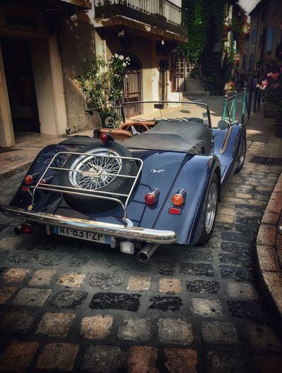 Lourmarin Morgan Morgan Motor Vintage Cars Classic Car Car