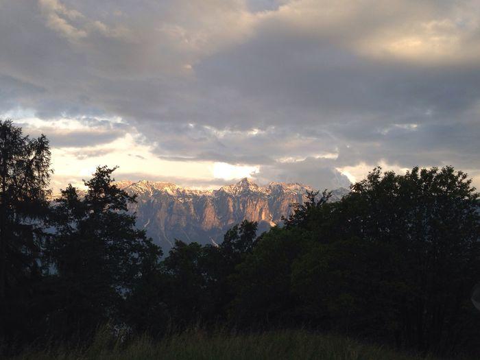 Tramonto Montagne Serate Di Maggio  Enjoy The Nature