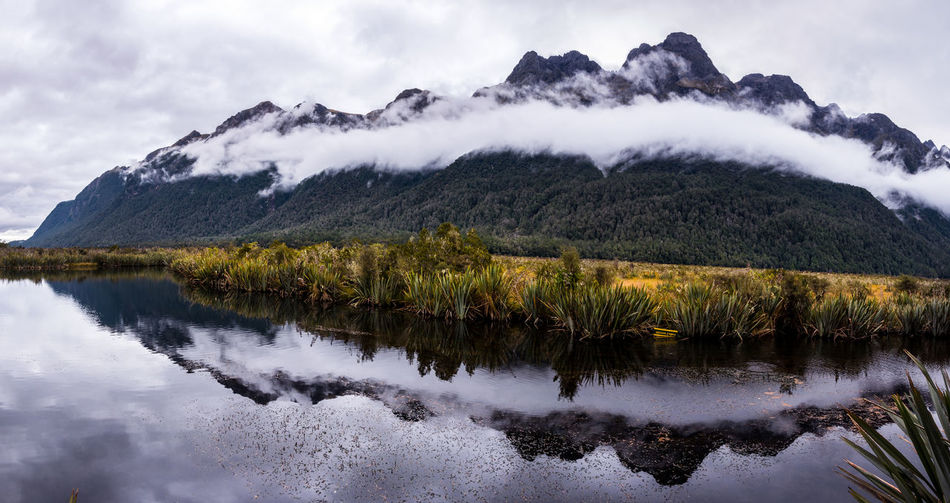 Water Beauty In Nature Scenics - Nature Cloud - Sky Tranquility Lake Nature Mountain Reflection Outdoors Clouds