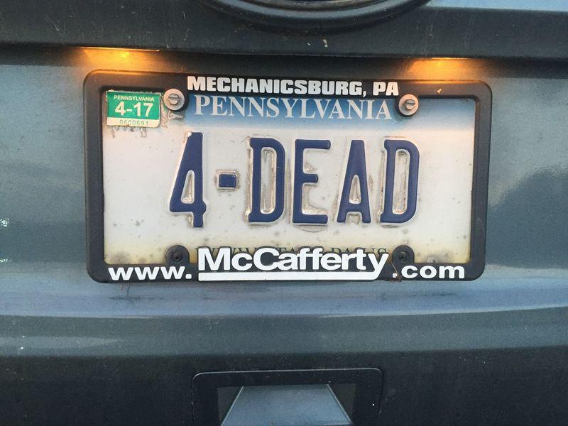License Plate Grateful Dead License Plate Vanity Plate