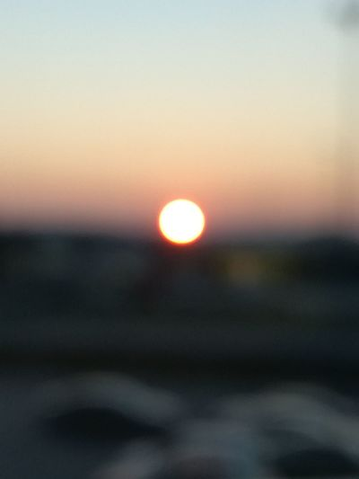 Sunset Sky Defocused Nature Outdoors No People Sun Landscape Day Illuminated Window Just Something NiceShot Different Perspective Mood Of The Day First Eyeem Photo Planet Earth