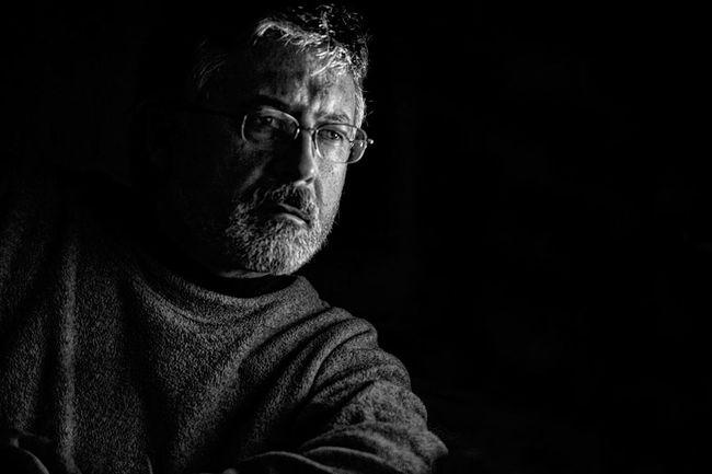 Evasive Black Background Casual Clothing Contemplation Dark Evasive Lifestyles Looking Away Photographer Arturo Macias Uceda Portrait Self Portrait Selfportrait Strong Look