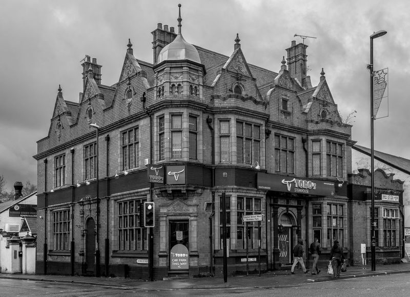 The General Wolfe (now a stakehouse), Foleshill Road, Coventry Coventry Black And White Blackandwhite Monochrome Street Foleshill Road Pubs Coventry Pubs FUJIFILM X-T2 General Wolfe Architecture