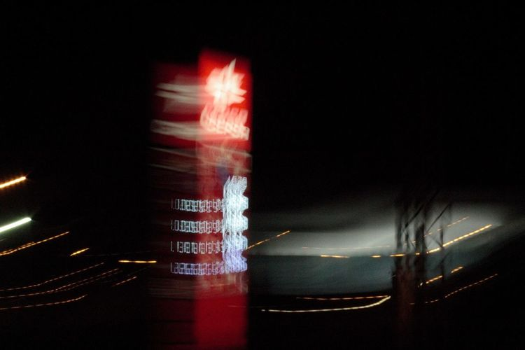 No People Indoors  Close-up Black Background Night Long Exposure Backgrounds Speed Abstract Lightpainting Road Oilstation