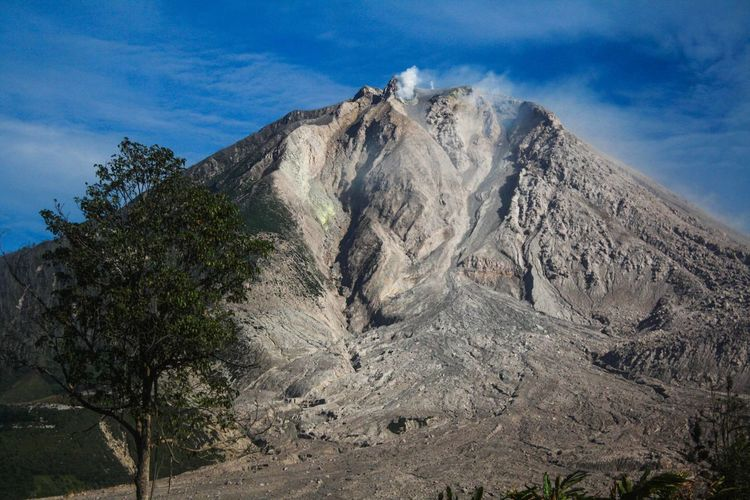 Sinabung Tree No People Nature Outdoors Sky Day Nature Mountain Volcano Medan Karo INDONESIA The Great Outdoors - 2017 EyeEm Awards