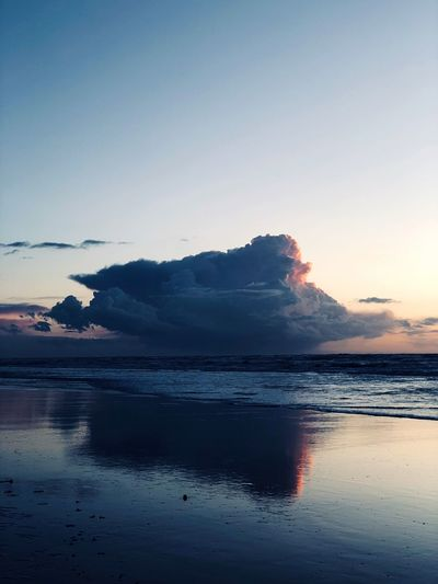 Cloud 9 Reflection Peace Beach Cloud 9 Cloud Water Sky Sea Scenics - Nature Beauty In Nature Sunset Tranquility Tranquil Scene No People