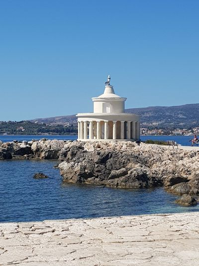 Architecture Government Clear Sky Travel Destinations Sky History Lighthouse Kefalonia, Greece Outdoors Politics No People Day Dome Built Structure Building Exterior City Lost In The Landscape Postcode Postcards