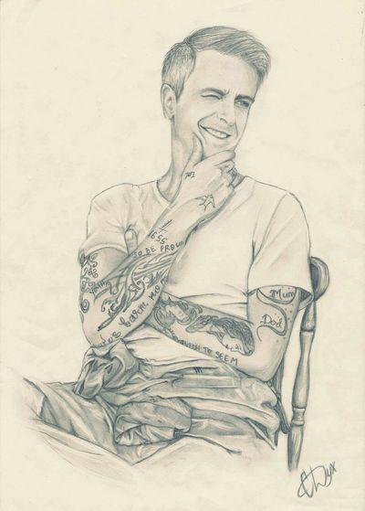 Art Sketch Portrait Pencil Drawing Misfits Joseph Gilgun Draw Drawing Boy Gilgun