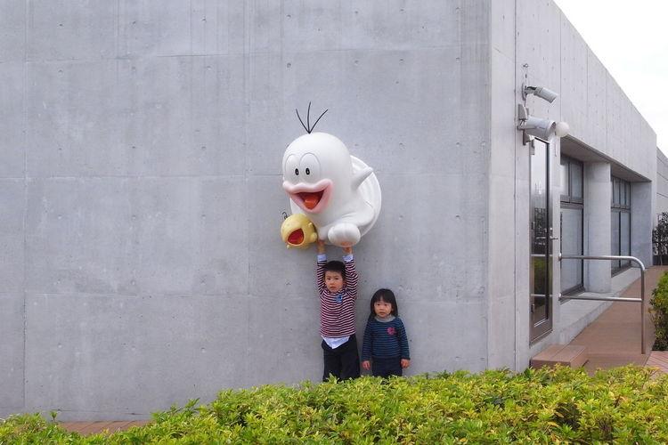 Boy Children Fujiko Museum Girl Manga Museum Outdoors Snap Tokyo Tokyo,Japan