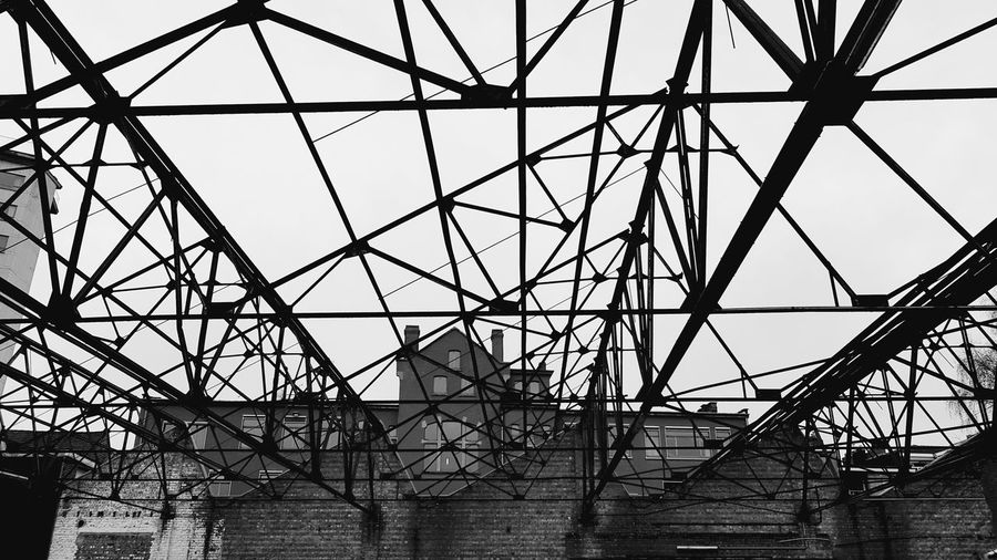 industrial estate Gent Belgium Industry Industrial Blackandwhite Photography Blackandwhite Photo Citypark City Fabric EyeEmNewHere Eye4photography  EyeEm Gallery EyeEm Best Shots Eyemcaptured Eyem Collection Gallery Girder Electricity Pylon Technology Complexity Steel Cable Business Finance And Industry Construction Frame Sky Architecture Grid Crisscross Seamless Pattern The Architect - 2018 EyeEm Awards