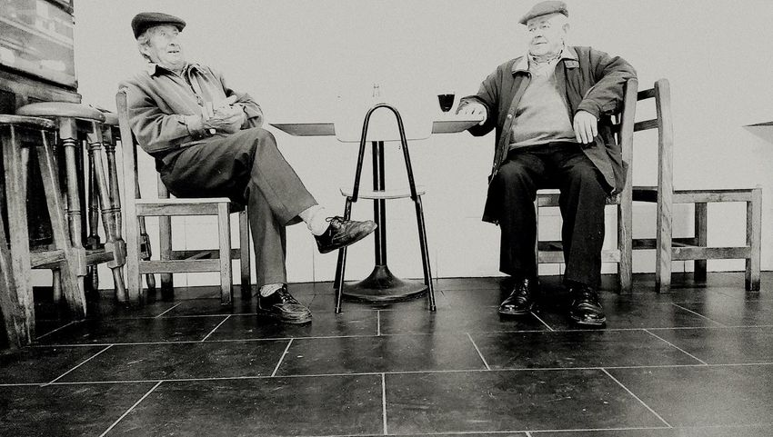 Relaxing Enjoying Life Portugal Freamunde B&W Collection Indoors  Chears Tasca no tasco do Nando One Plus Two