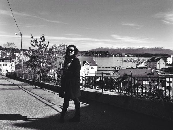 Street Photography Enjoying Life Blackandwhite Norway